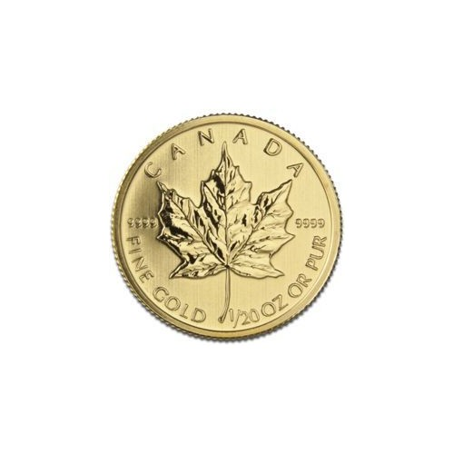 Maple Leaf Oro 1/20 oz.