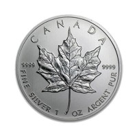 Maple Leaf Plata 1oz.